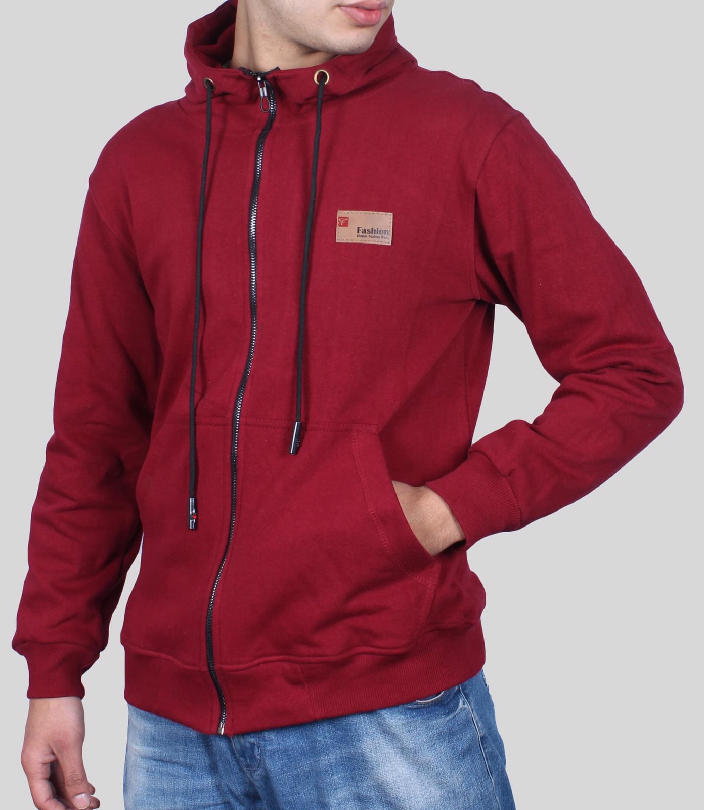 Men's Jumper Hoodie With Chain And Pocket For Autumn Season New Fashion